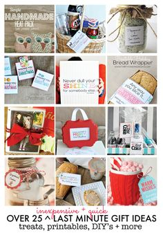 25+ Inexpensive Last Minute Gift Ideas