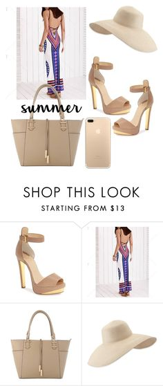 """Summer"" by mynameissari ❤ liked on Polyvore featuring Christian Louboutin and Eric Javits"