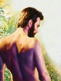 Adam Before The Fall, Bible Pictures, Adam And Eve, Mona Lisa, Naked, Stage, Romance, God, Artwork