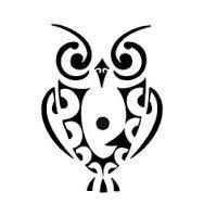 owl tattoo maori - Pesquisa Google