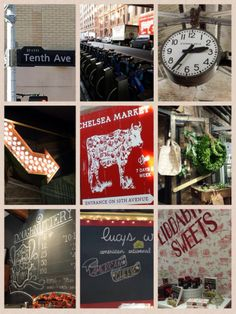 My favorite market in NY...Chelsea Market...http://off2themarket.wordpress.com/2013/11/10/high-line-it-to-the-chelsea-market/
