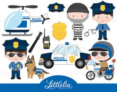 **INSTANT DOWNLOAD** **BUY 3 GET 1 FREE** For matching girl police officer, kindly find below link https://www.etsy.com/listing/471863609/girls-police-officer-police-clipart Here you will find 12 clipart elements You will be receiving files as below: 1 zip file that contain 12 separated 300 dpi PNG with transparent background, measurement approx. 6 inch 1 EPS file (open for most design program such as illustrator or corel draw) This is digital product that can be ...