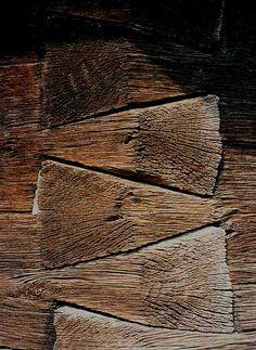 Dit is een goed voorbeeld van een zwaluw verbinding omdat 2 stukken hout worden vastgemaakt