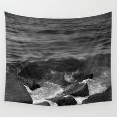 BEACH DAYS XX BW Wall Tapestry
