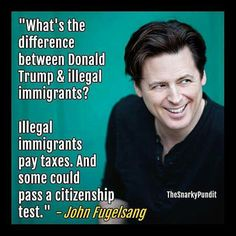Could Trump pass a citizenship test? We know he doesn't pay taxes.
