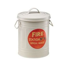 Ore Pet Extra Small Fire Station No. 9 Treat Bin  #ORE_Pet #Home