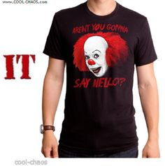 Pennywise the Clown T-Shirt / Official Stephen King's IT Movie T-Shirt