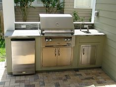 Small Outdoor Kitchens Design Ideas, Pictures, Remodel and Decor