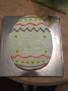 Baby Ideas Cake Ideas Baby Announcements Announcement Cake Cakes