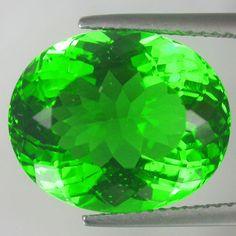 11.25Ctw Natural MOLDAVITE RUSSIAN GREEN OVAL Cut Gemstone #new