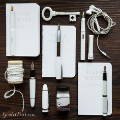 Goulet Pens Blog: Thursday Things: White and Bright