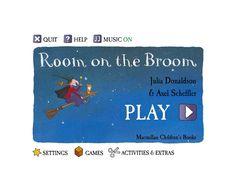 Room on the Broom Interactive ebook Jan 22 - story Therapy Activities, Book Activities, Room On The Broom, School Fun, School Stuff, Interactive Stories, Book Corners, Author Studies, Book Week