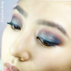Eyeshadow look done by @melorachang