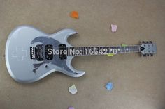 244.79$  Watch now - http://alih7e.shopchina.info/go.php?t=32808744383 - Free Shipping HOT Wholesale High quality Custom Shop EMG pick-up ESP LTD RZK-600 Silver Gray Jazz Electric Guitar      150604  #magazineonline