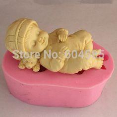 """Günstige fm342 mädchen seifenform Fondant kuchen form seife Küche backen schokoladenformen, Kaufe Qualität   direkt vom China-Lieferanten:     Beschreibung:* formgrösse:( l*w*h) 7.2*5*4.8cm( 2.83*1.97*1.89"""") 151g für junge baby10*5.5*4.9cm( 3.94*2.17*1."""