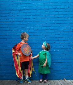 DIY Costumes for Kids - Comet and Fairy