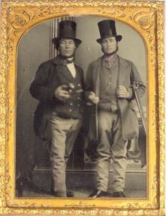 Occupational Ambrotype of Two Hunters