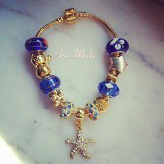 Modello Blu...versione golden. .