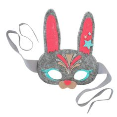 Fun for every bunny! With this easy to make DIY kit, kids can design and wear their own bunny mask, complete with bunny ears, glitter glue, and more! This creative kit is perfect for Easter crafts for kids, or to put in their baskets for sweet, candy-free Easter fun! Everybunny will ooh and aah over your one-of-a-kind forest friend mask. Recommended for ages 4 - 6. Kit includes: Felt mask Craft Glue Glitter Glue Assorted Felt Sheets Felt Shapes Instructions