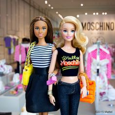 Fun to share all of my @Moschino memories with friends!#barbie #barbiestyle