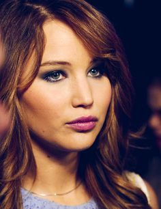 Would love to swap hair with Jennifer Lawrence. Is that creepy? Oh well! Love her! #jenniferlawrence #jlaw #gorgeous