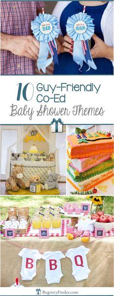 10 guyfriendly coed baby shower themes
