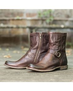Frye Men's Phillip Inside Zip Boot - Dark Brown.... I love mine wear them everyday