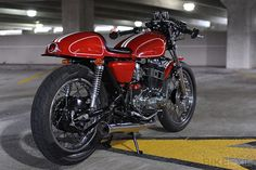 YAMAHA XS500 CAFE RACER: built by Philadelphia-based Ted Cichocki