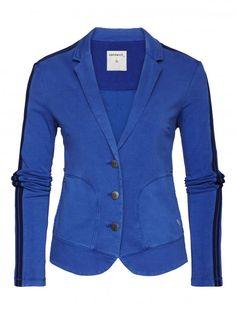Blazer Marine blue - Sandwich fashion Spring '16