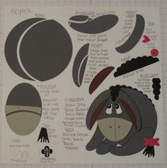 In My Craft Room: Eeyore Punch Image Card