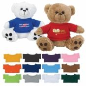 Cute, cuddly and snuggly bears are a fun and thoughtful way to promote your branding messages. From colleges and universities to hospitals and corporations, plush bears are fitting gifts for an endless number of events.