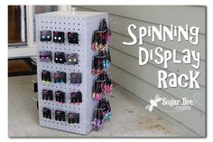 Spinning Display Rack