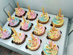 Unicorn cupcakes Unicorn Cupcakes, Mini Cupcakes, Deserts, Fancy, Food, Essen, Dessert, Desserts, Yemek