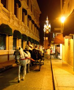 Horse-drawn Carriage in Cartagena, Colombia