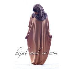 Abaya Alya Camel