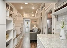 Interior View - Kate by Tiny House Building Company