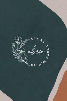Art by Court Winter — Karima Creative Logo Inspiration, Creative Logo, Kreis Logo Design, Logo Branding, Branding Design, Branding Process, Graphic Design Logos, Minimal Graphic Design, Fashion Logo Design