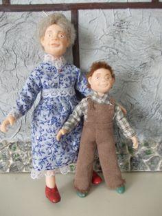 Abuela y nieto <3