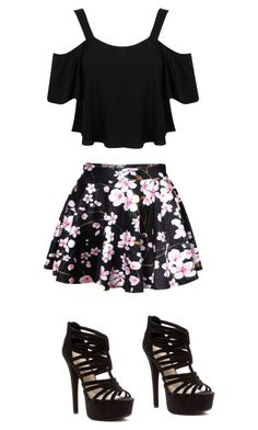 """Made by Ashley"" by slay-queen ❤ liked on Polyvore featuring Miss Selfridge and Chinese Laundry"