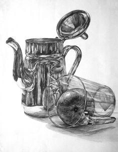 후아유 미술학원 (목동) / 미대입시, 예중, 예고, 미대편입, 임용미술, 취미미술 Realistic Pencil Drawings, Pencil Sketch Drawing, Pencil Shading, Basic Drawing, Drawing Lessons, Drawing Ideas, Still Life Drawing, Still Life Art, Art Sketches