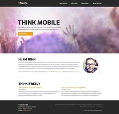 Freely Company - Flat Design Inspiration