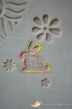 Hop-Along Neon Bunny - Lebenslustiger.com