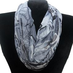 Abstract Infinity Scarf Fashion Jewelry Wholesale