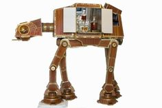 AT-AT liquor cabinet for cocktail-sipping Siths