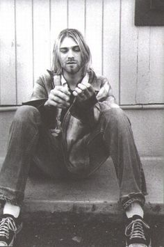 """""""I use bits and pieces of others personalities to form my own."""" ― Kurt Cobain"""