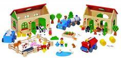 Goki houten Boerderij 71 delig online kopen