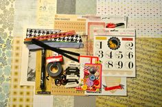 Introducing the Feb. 2013 Scrapbook Kit: A Trim in Time.