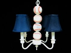 Hey, I found this really awesome Etsy listing at http://www.etsy.com/listing/83180606/sports-chandelier-lighting