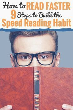 Wish you could finish books quickly and effortlessly? Looking to learn how to read faster while retaining what you've learned? In this article, I'll go through a simple nine-step process you can use to learn how to read faster.