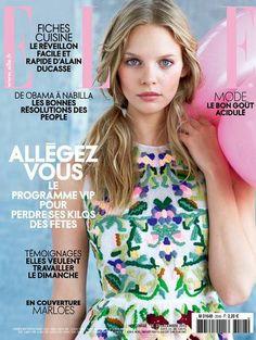 Elle France January 2014 Marloes Horst